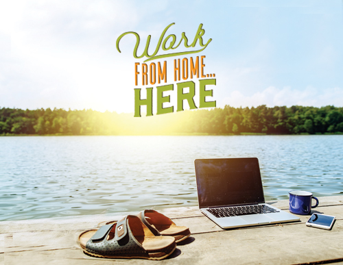 Work From Home... Here!